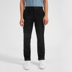Heavyweight Straight Chino by Everlane in Black, Size 28x32