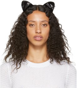 Black Heidi Cat Headband