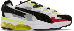 Black and Multicolor Puma Edition Cell Alien Sneakers
