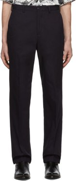 Navy Twill Classic Trousers