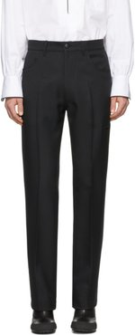 Black Officer Trousers