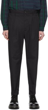 Black Carlyle Trousers