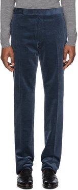 Navy Corduroy Gregory Trousers