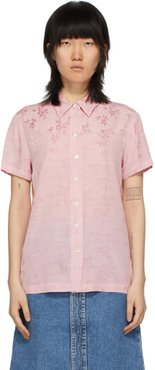 Pink Carina Short Sleeve Shirt