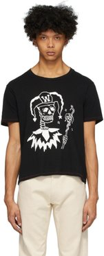 Black Joker Rocker T-Shirt