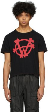Black Logo Rocker T-Shirt