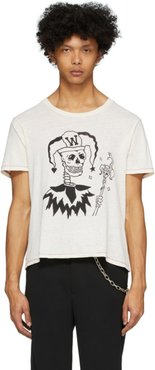 Beige Joker Rocker T-Shirt