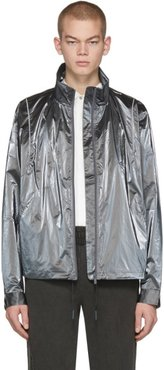 Silver Reflective MTRO Piped 3M Track Jacket