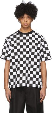 White Checkerboard T-Shirt