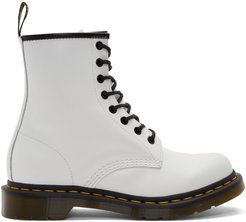 White 1460 Boots