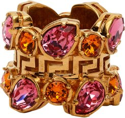 Pink Jungle Empire Ring