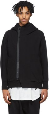 Black Double Face Hoodie