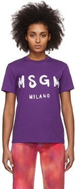 Purple Artist Logo T-Shirt