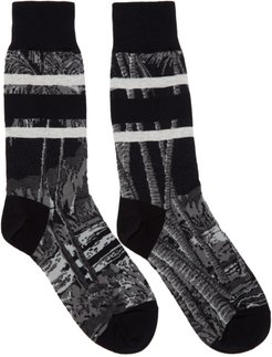 Black Sun Surf Edition Diamond Head Socks