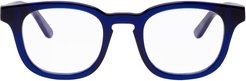Blue Dystopy 384 Glasses