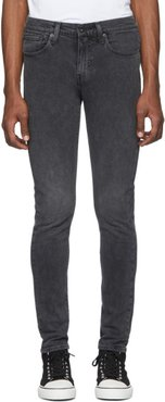 Black 502 Slim Taper Jeans
