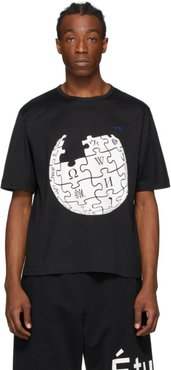 Black Wikipedia Edition Unity Sphere T-Shirt