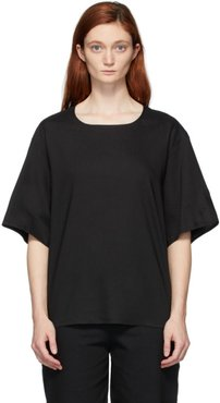 Black The Bricklayer Blouse