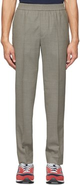 Beige Paolo Trousers