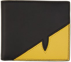Black and Yellow Bag Bugs Mono Eye Card Holder
