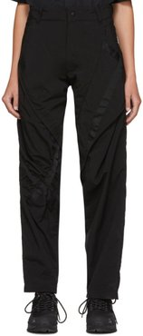 Black Lead Contortion Trousers