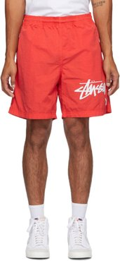Red Stussy Edition NRG Water Shorts