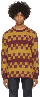 Red Check 1980s T-Shirt