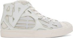 White Converse Edition Jack Purcell Sneakers