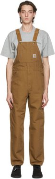 Brown Bib Overalls