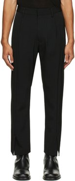 Black Flare Trousers