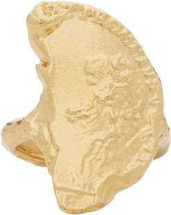 Gold Il Leone Chapter II Ring