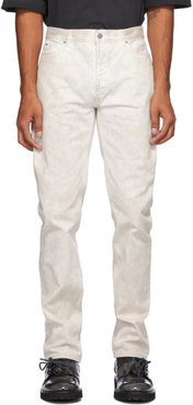 White Marble Jeans