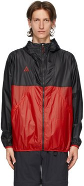 Red and Black ACG Jacket