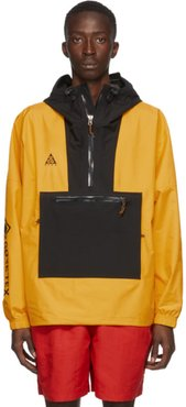 Black and Yellow Gore-Tex® Paclite Jacket