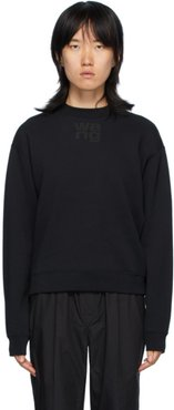 Black Foundation Terry Sweatshirt