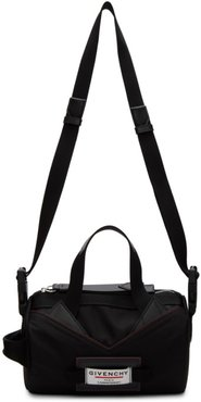 Black Downtown Tube Crossbody Bag