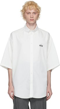 White Crew Short Sleeve Shirt