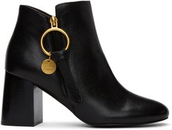 Black Louise Ankle Boots