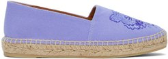 Purple High Summer Tiger Espadrilles