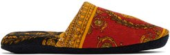 Red Baroque Slippers