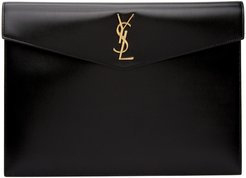 Black Large Uptown Pouch