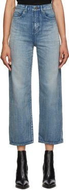 Blue Denim Original High-Rise Jeans