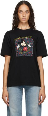 Black Mickey Mouse T-Shirt