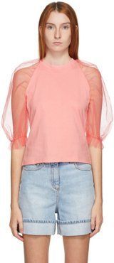 Pink Tulle T-Shirt