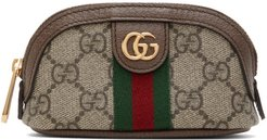 Beige GG Ophidia Coin Pouch