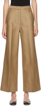 Beige Carlie Tailored Trousers