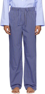 Blue Striped Pyjama Pants