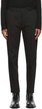 Black Harvey Trousers