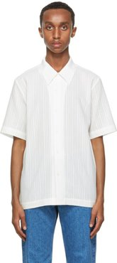 White Linen Formal Shirt