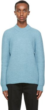 Blue Leth Sweater